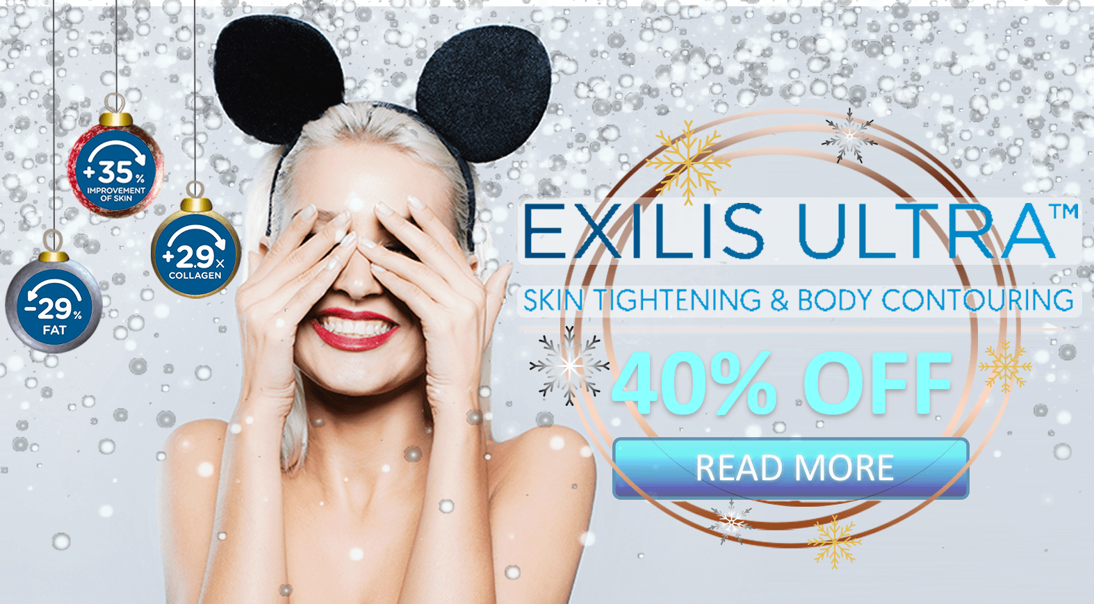 40% Off Exilis Ultra Christmas Offer
